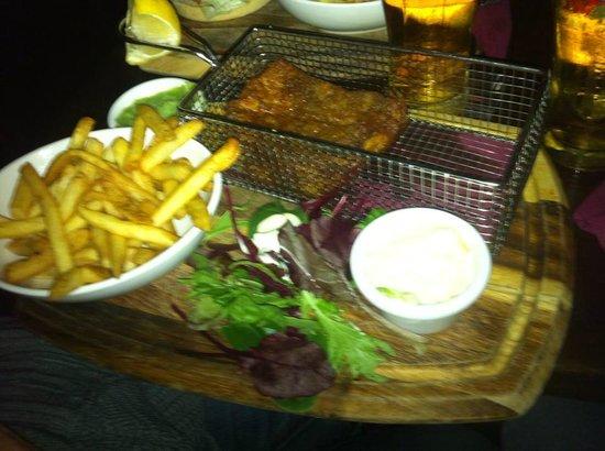 Bad Bobs Temple Bar: fish and chips