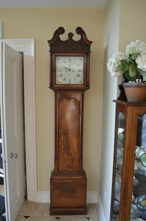 Monart: Grandfather clock in the old house