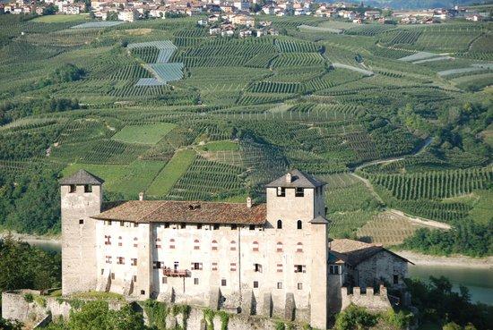 Dos Di Pez, Terrazza Panoramica: Castello di Cles