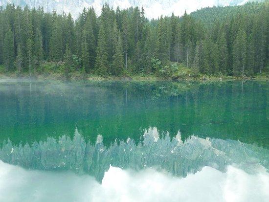 Hotel Dosses: joli lac le Carersee