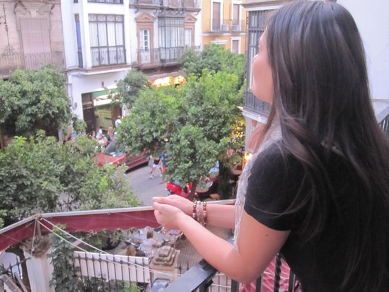 Sevilla Inn Backpackers: Visuale dall'ostello