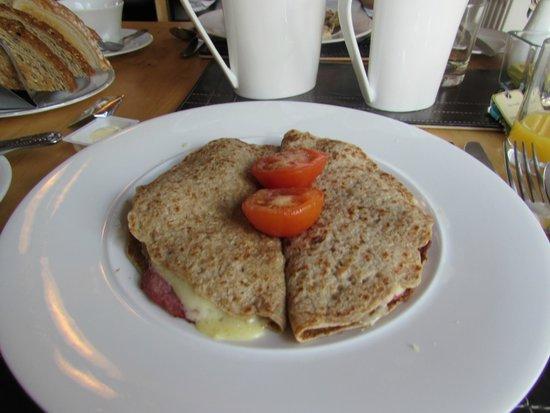 The Haven B&B: Oatcakes for breakfast :)