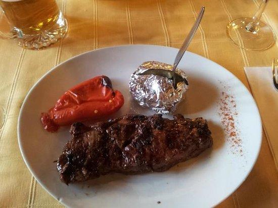 Restaurante Grill Los Abuelos: Антрекот