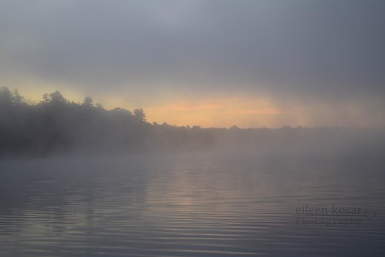 Kripalu Center for Yoga & Health: In the morning if a fog rolls in, grab your camera