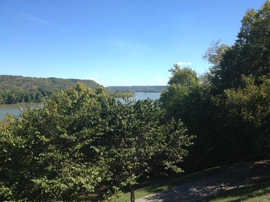 Maysville, KY: View from front porch of the historic Pogue family home.
