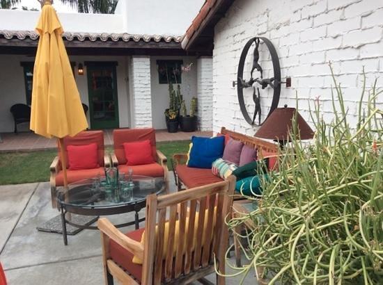 Casa Ocotillo : courtyard