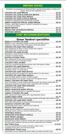 The Green Tandoori