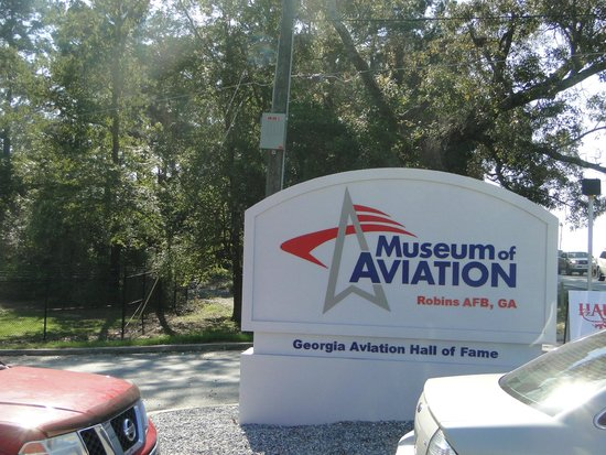 Museum of Aviation : you're here