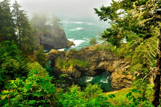 Samuel H. Boardman State Scenic Corridor : Natural Bridge
