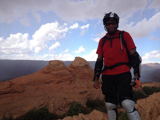 Sacred Rides: Slickrock summit
