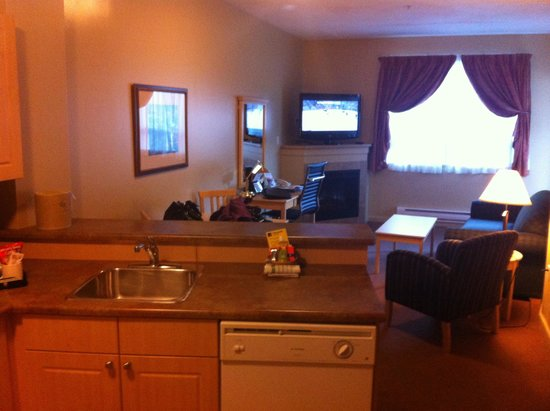 Clearwater Suite Hotel: Spacious