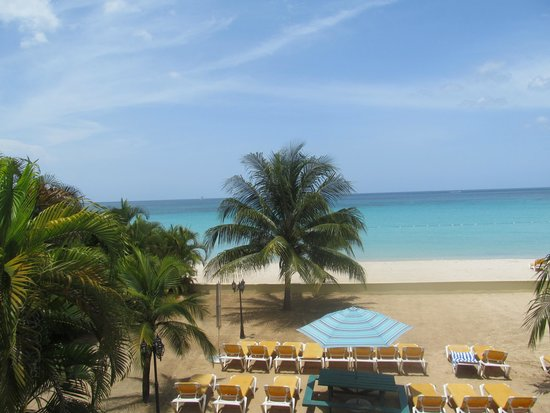 SuperClubs Rooms on the Beach Negril : view from our terrace