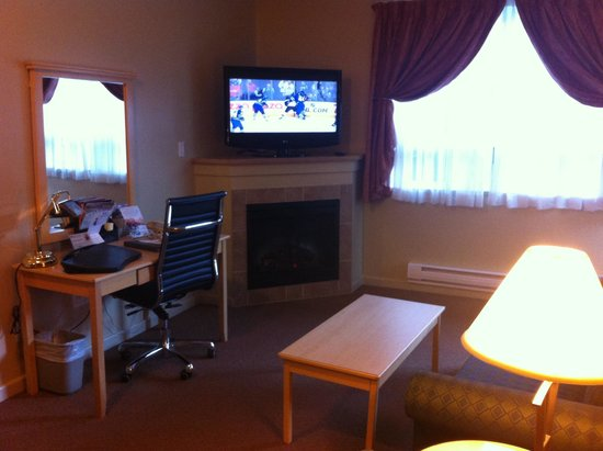 Clearwater Suite Hotel : Great room!