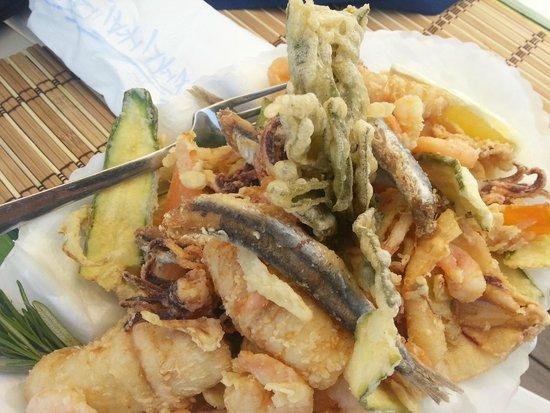 Fritto di mare foto di ristorante stabilimento balneare - Bagno arizona viareggio ...