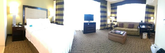 Homewood Suites by Hilton Dallas Downtown: Pano of Room