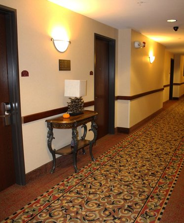 Comfort Inn Williamsport: Hallways, quiet and elegant