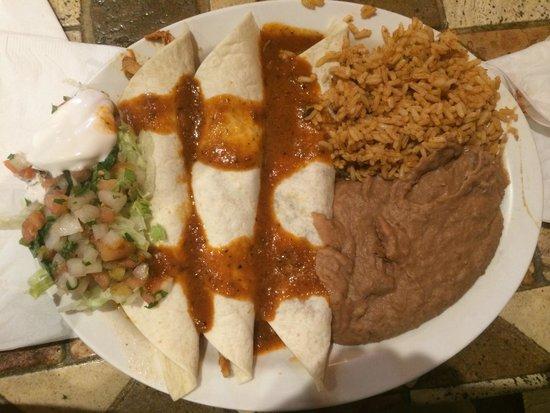 Mexico Bravo Cantina Bar & Grill: Burritos