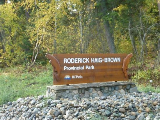 Scotch Creek, Canada: Roderick Haig-Brown Provincial Park