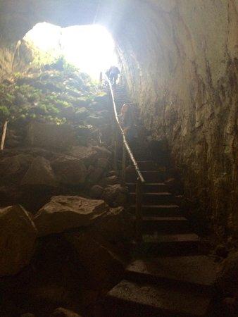 Lava Tunnel : Producto de la Naturaleza