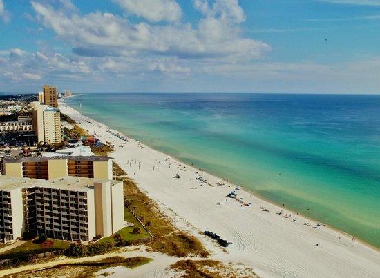 Boardwalk Beach Resort Condominiums: View from 21st floor balcony