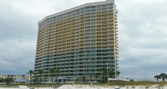 Boardwalk Beach Resort Condominiums: Condo from beach