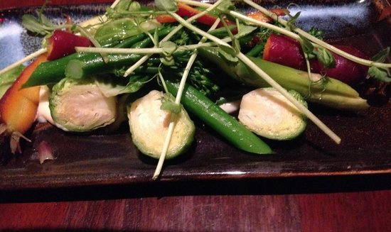 Muster Bar and Grill: Seasonal vegetables
