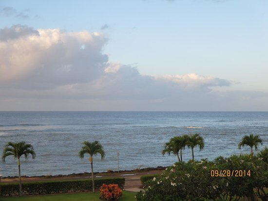 Lawai Beach Resort : View from our Lanai