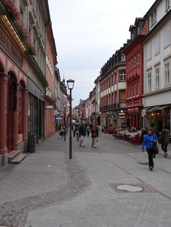 The streets around the Market Square (Marktplatz)