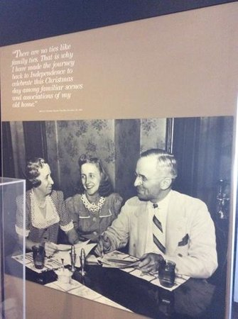Harry S Truman National Historic Site: Harry's Views on Family at the Visitor Center