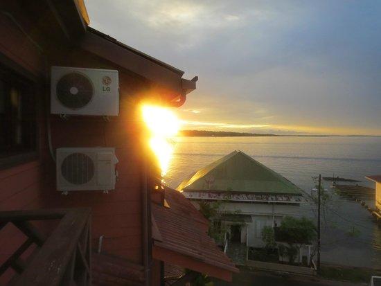 Hotel Palma Royale: Sunrise from balcony
