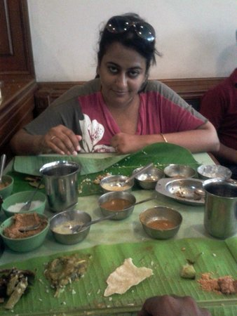 The Unbeatable Thaali Picture Of Hotel Rrr Restaurant