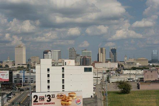 Hilton Garden Inn Nashville/Vanderbilt: View from 9th floor balcony.