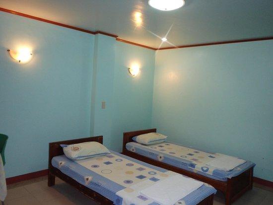 Sun Beam Marine Sports: お部屋はシンプルです