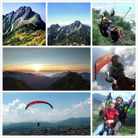 欧都探索南投登山、飞行伞