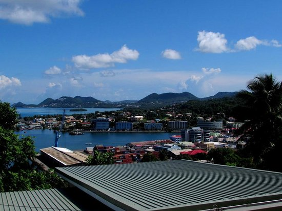 Fabian Tours: View of Castries from Mont Fortune