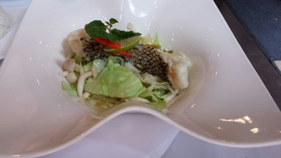 Osha Thai Restaurant: Heavenly sea bass