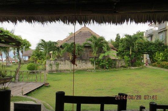 Villa Tropical Paradise: レストランからの眺め