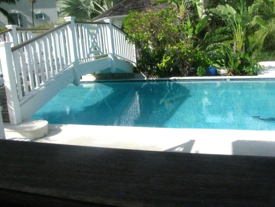 The pool at Royal West Indies Resort