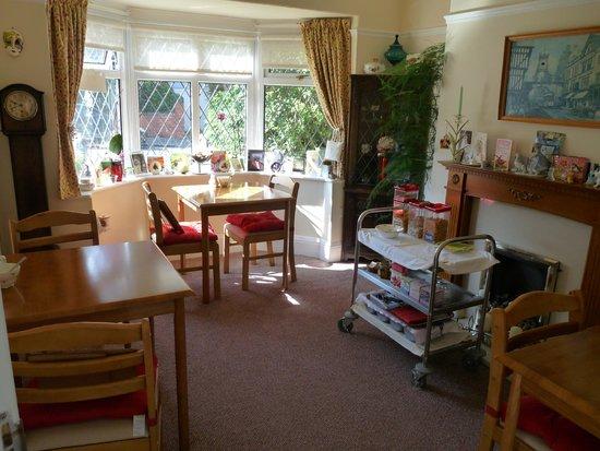 Rowland House: Breakfast room