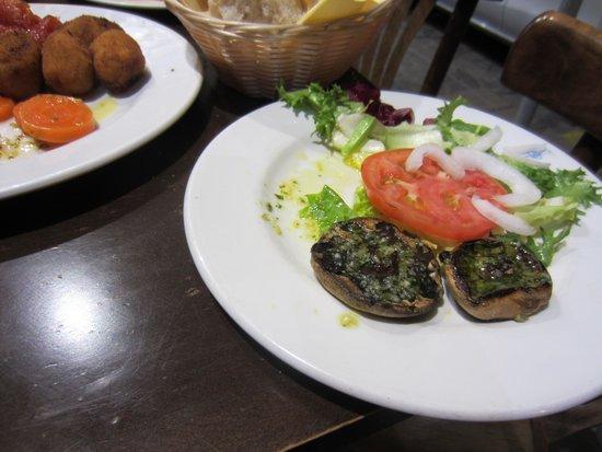 Cerveceria Giralda : mushrooms