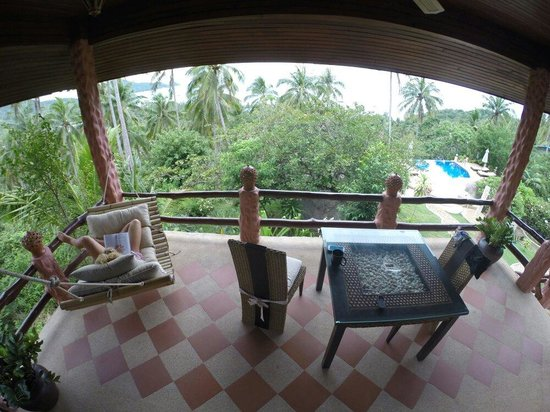 The Rocks Villas: Balcone view