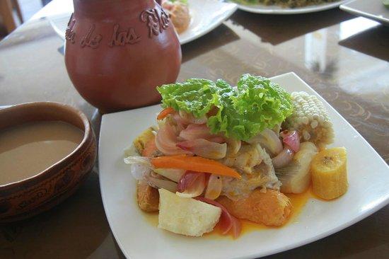 La Perla de las Flores Restaurant: Causa Monsefuana