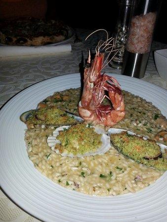 Fabio's: Seafood risotto