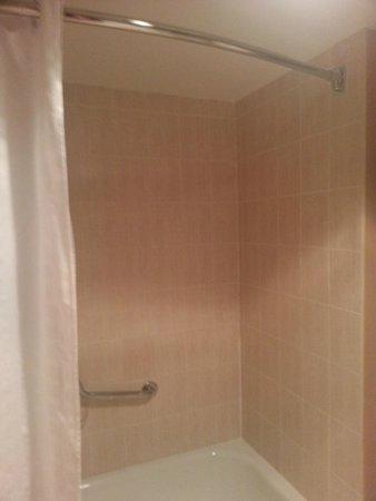 Best Western Dorchester Hotel: shower
