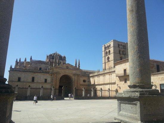 Zamora: vista da catedral