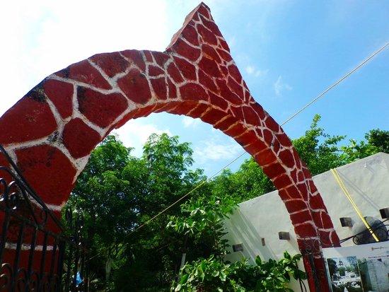 Entrance to Hacienda Mundaca