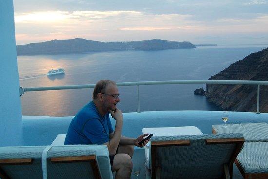 Ikastikies: View from deck