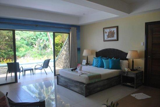 Boracay Terraces Resort: Double Deluxe - Room 201 (Ocean View)