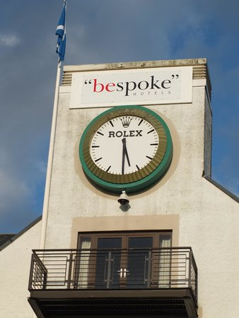 Rolex Clock on 18 , Picture of Carnoustie Golf Hotel and Spa