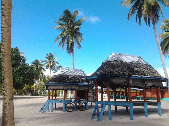 Falealupo Beach Fales張圖片